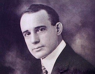 Headshot of Napoleon Hill 1905